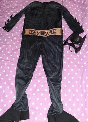 Карнавальный костюм бетмен 7-8 лет.