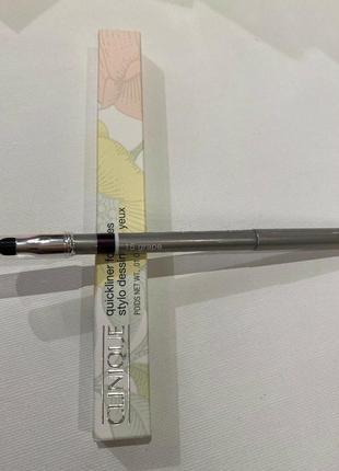Clinique автоматический карандаш для глаз с растушевкой