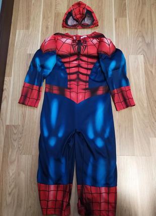 Костюм человек паук 3-4 г