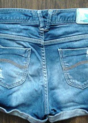 Шорты джинсовые bershka2