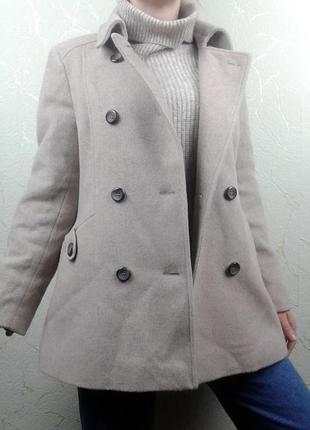 Красивое шерстяное пальто next