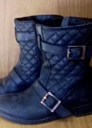 Черные ботинки, весняні ботінки, ботіночки, чобітки, сапожки