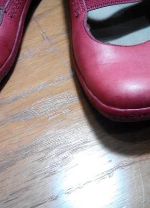Удобные мягкие туфли мокасины clarks кожа 100 %3