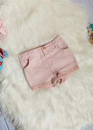 Джинсовые шорты denim малышке 2-3 года