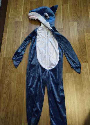Костюм акуленок 3-4 г