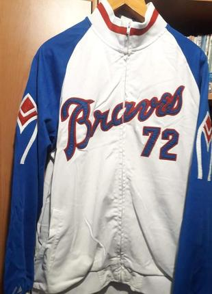 Американская кофта-бейсболка braves