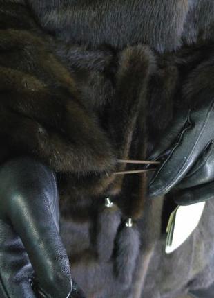 Шуба норковая, норка шубка цвет соболь. шубы из норки3