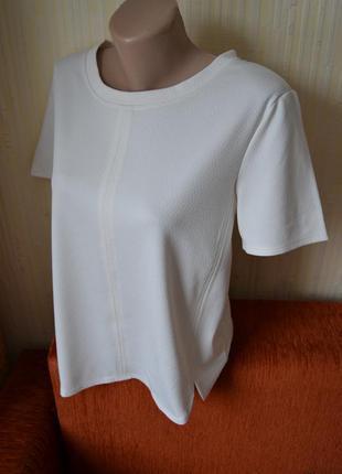 Футболка блуза бежева з замочком new look3