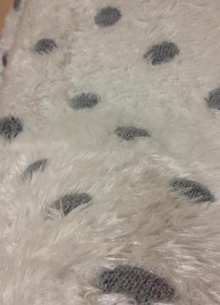 Супер теплый и плотный свитер-травка в горох от marks & spencer5
