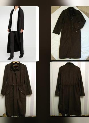Распродажа🌹дубленка миди, пальто, на л,хл, большой размер
