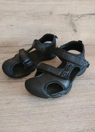 Спортивные сандалии teva 28 р на липучках прорезиненный носок