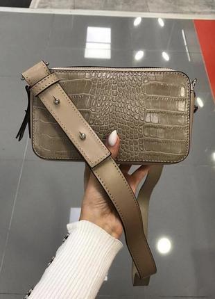 Неймовірно стильна шкіряна сумочка італія сумка кожаная кроссбоди