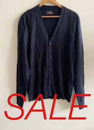 Мужской кардиган pierre cardin paris p.xl. #559. sale!!!🎉🎉🎉