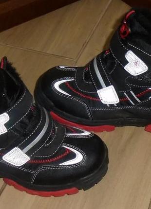 Зимние термо ботинки 34 р