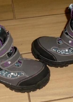 Willowtex зимние термо ботинки 33 р