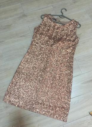 Платье, сукня, паєтки, паетки