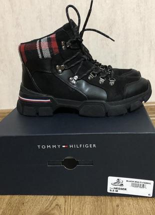 Трендовые ботинки хайкеры tommy hilfiger