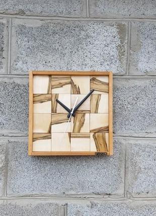 Часы настенные в новом дизайне, настенные часы, уникальные настенные часы, деревянные часы
