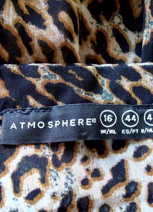 Красивая блузка из шифона atmosphere uk16 большой размер в идеальном состоянии2