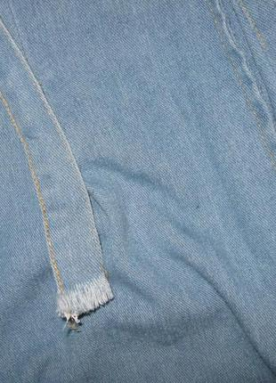 Джинсики кюлоты 12-14р3 фото