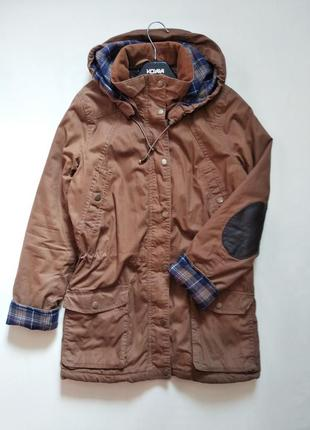 Крутая курточка парка h&m s-m