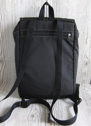 Черный рюкзак с отделением для планшета или ноутбука3