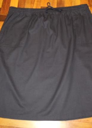 Хлопковая юбка damart в состоянии новой 6xl