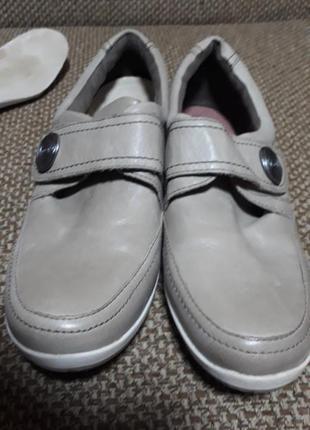 Туфли кожа softwalk ст. 25см