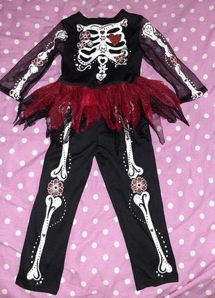 Карнавальный костюм на хеллоуин 3-4 года