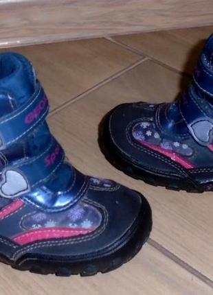 Geox ботинки демисезонные 23 р