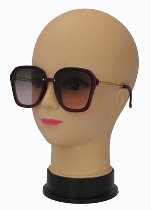 Модные женские солнцезащитные очки 2341