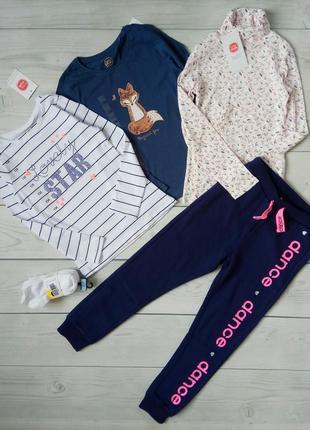 Реглан + водолазка + штаны + носки