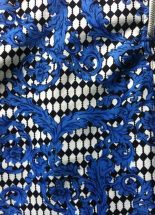 Новая юбка миди в актуальный принт4