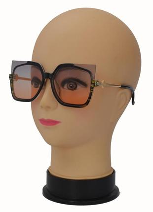 Модные женские солнцезащитные очки 2346