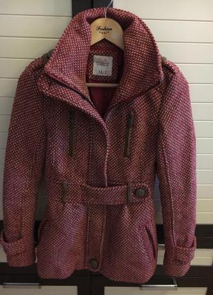 Пальто демисезонное bershka5