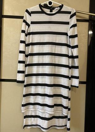 Длинный свитер zara