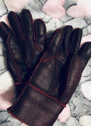 Перчатки эко кожа