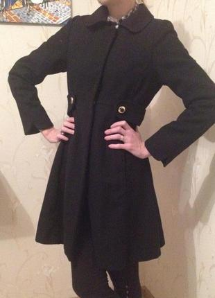 Шерстяное пальто zara срочно