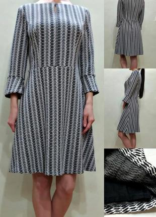 Платье - плотный трикотаж