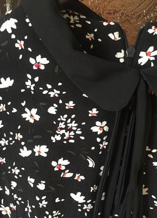 Красивое миди платье с воротником asos