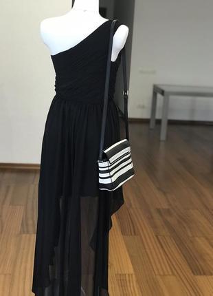 Сногсшибательное коктейльное платье 👘 на одно плечо