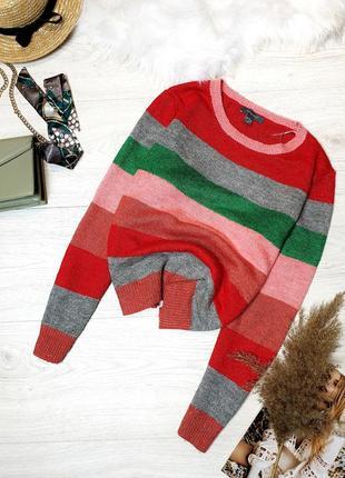 Кольоровий светр в полоску primark