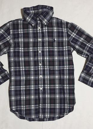 Детская рубашка polo ralph lauren
