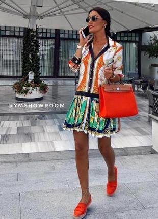 Шикарное хитовое актуальное коктейльное платье мозаика от zara