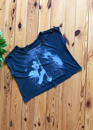 Стильный изумрудный топ футболка свободная truly.madly.deeply. р-р s