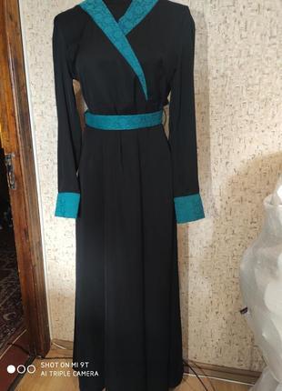 Платье в пол 44-46 размер турция