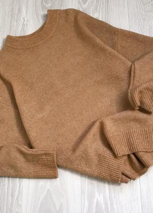 Идеальный! базовый бежевый свитер h&m