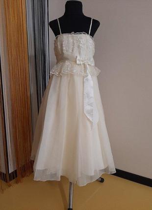 Платье коктейльное нарядное р.128-134-140