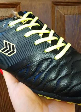Подростковые футбольные кроссовки бутсы копы футзалки сороконожки restime р. 36-41