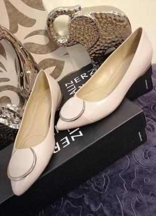 Туфли балетки кожаные naturalizer